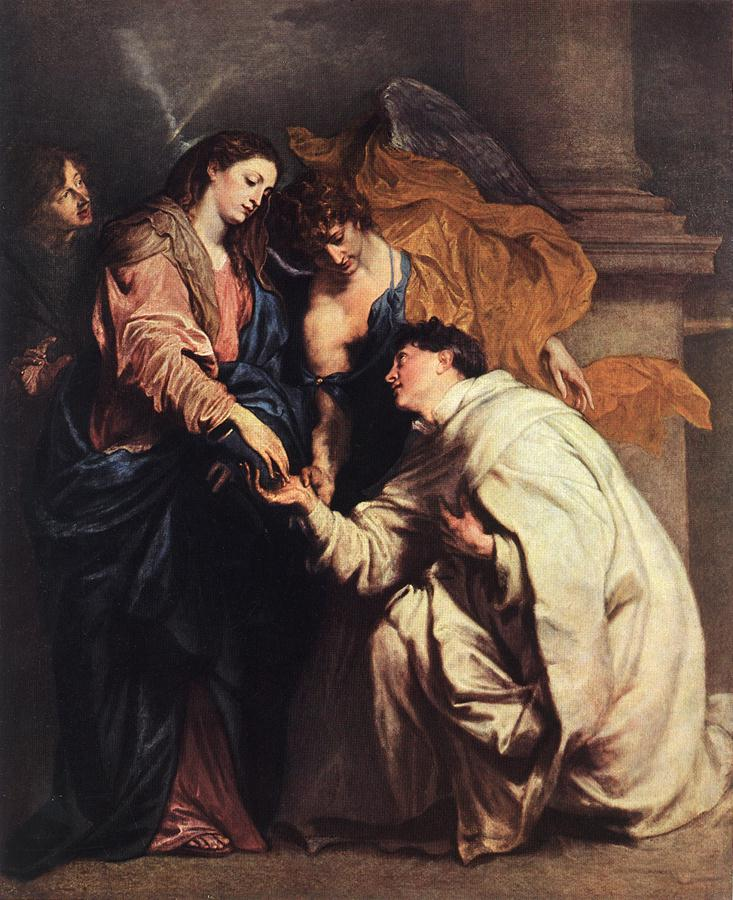 Blessed Joseph Hermann 1629 | Sir Anthony Van Dyck | Oil Painting