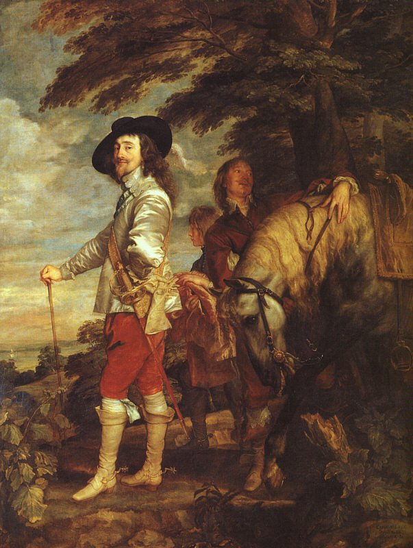 Charles I King Of England At The Hunt 1635 | Sir Anthony Van Dyck | Oil Painting