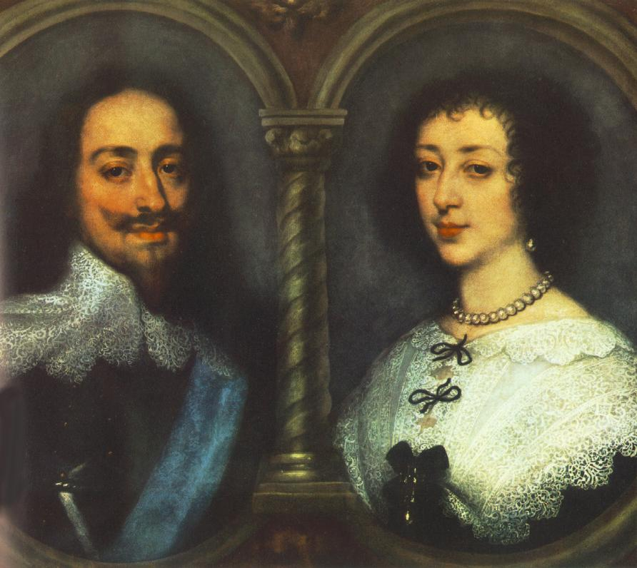 Charles I Of England And Henrietta Of France | Sir Anthony Van Dyck | Oil Painting