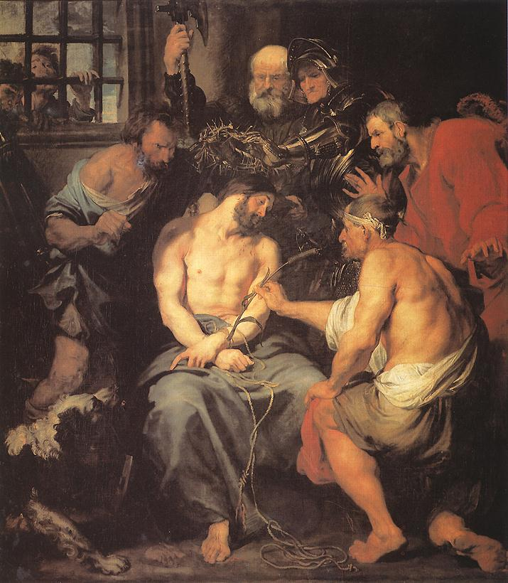 Crowning With Thorns 1618-20 | Sir Anthony Van Dyck | Oil Painting