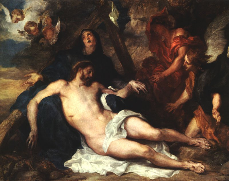 Deposition 1634 | Sir Anthony Van Dyck | Oil Painting