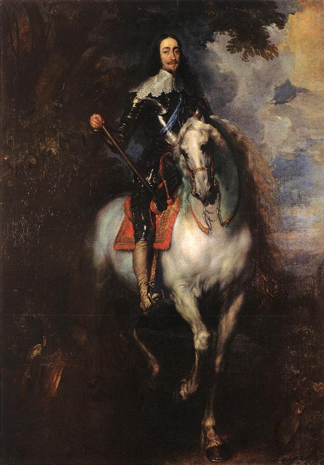 Equestrian Portrait Of Charles I King Of England 1635-40 | Sir Anthony Van Dyck | Oil Painting
