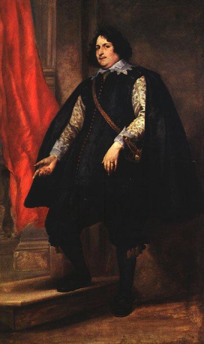 Portrait Of A Gentleman 1624 | Sir Anthony Van Dyck | Oil Painting