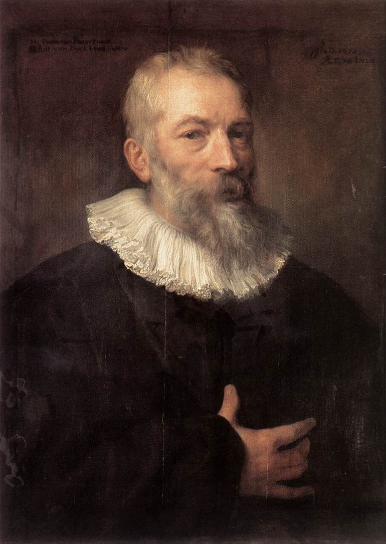 Portrait Of The Artist Marten Pepijn | Sir Anthony Van Dyck | Oil Painting
