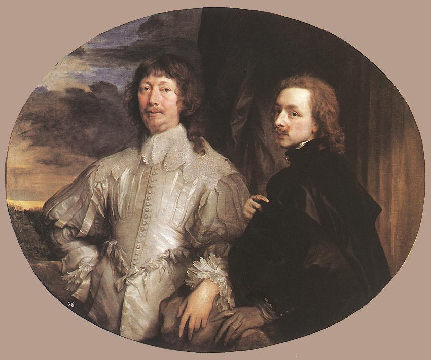 Sir Endymion Porter And The Artist 1632-41 | Sir Anthony Van Dyck | Oil Painting