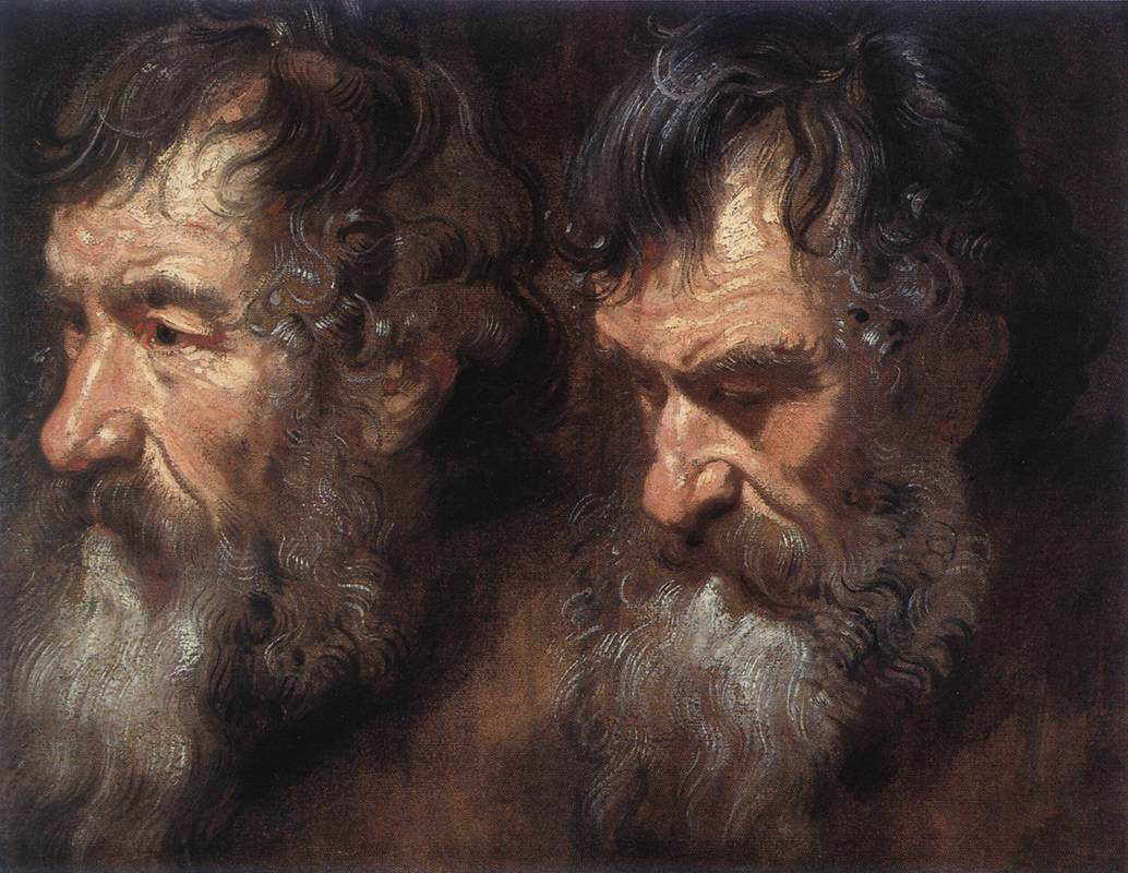 Studies Of A Mans Head | Sir Anthony Van Dyck | Oil Painting