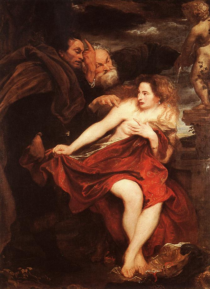 Susanna And The Elders 1621-22 | Sir Anthony Van Dyck | Oil Painting