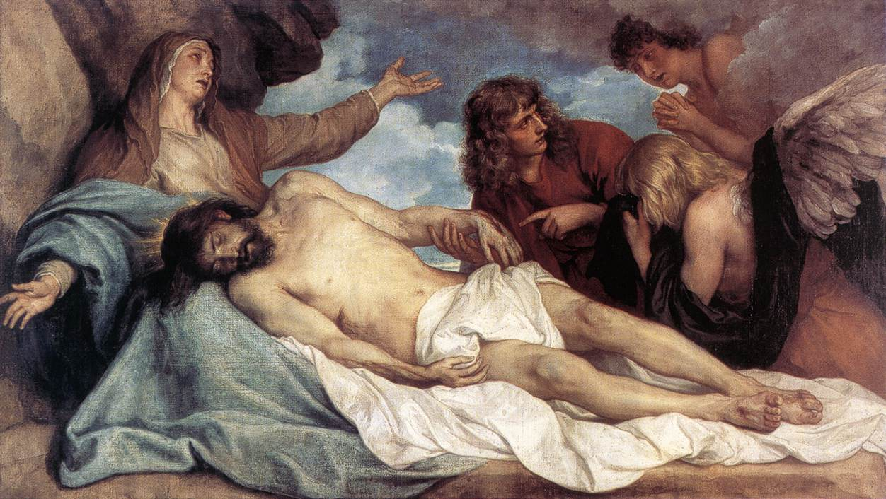 The Lamentation Of Christ | Sir Anthony Van Dyck | Oil Painting