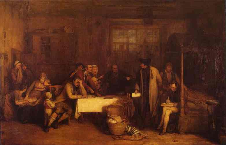 Distraining For Rent 1815 | Sir David Wilkie | Oil Painting