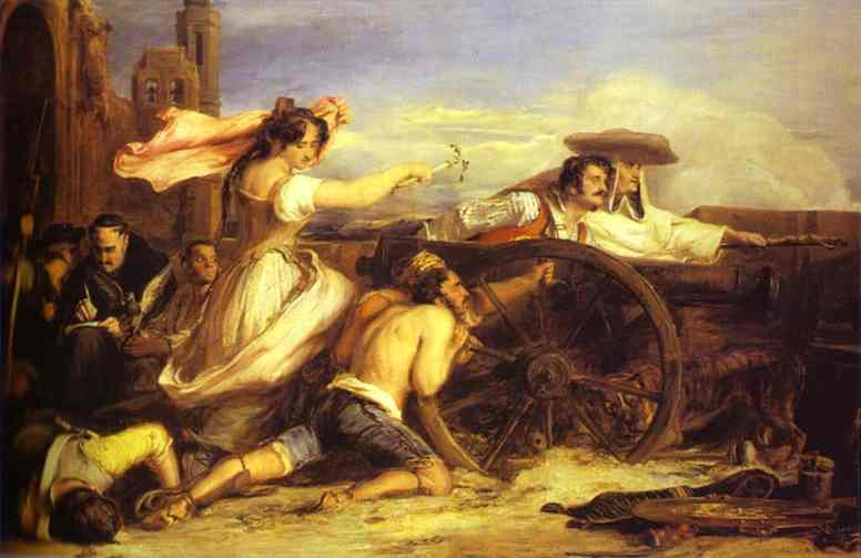 The Defence Of Saragossa 1828 | Sir David Wilkie | Oil Painting