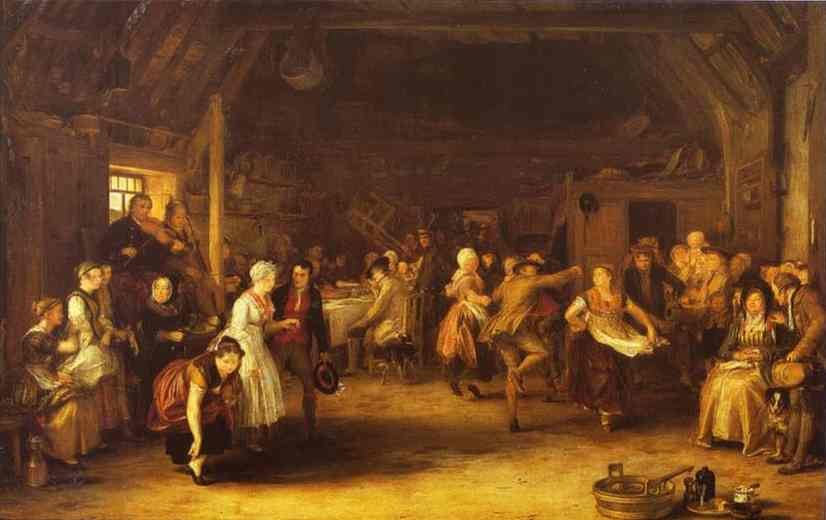 The Penny Wedding 1818 | Sir David Wilkie | Oil Painting