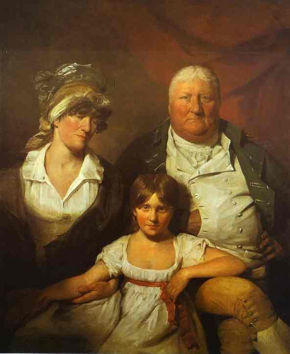 William Chalmers Bethune His Wife Isabella Morison And Their Daughter Isabella 1804 | Sir David Wilkie | Oil Painting