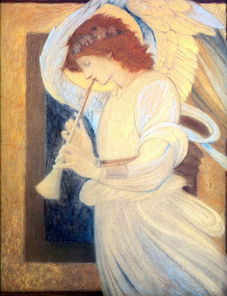 Angel | Sir Edward Coley Burne-Jones | Oil Painting