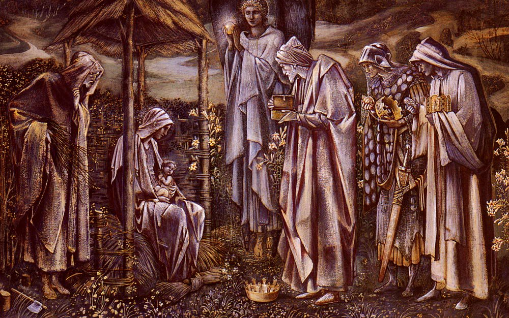 The Star Of Bethlehem | Sir Edward Coley Burne-Jones | Oil Painting
