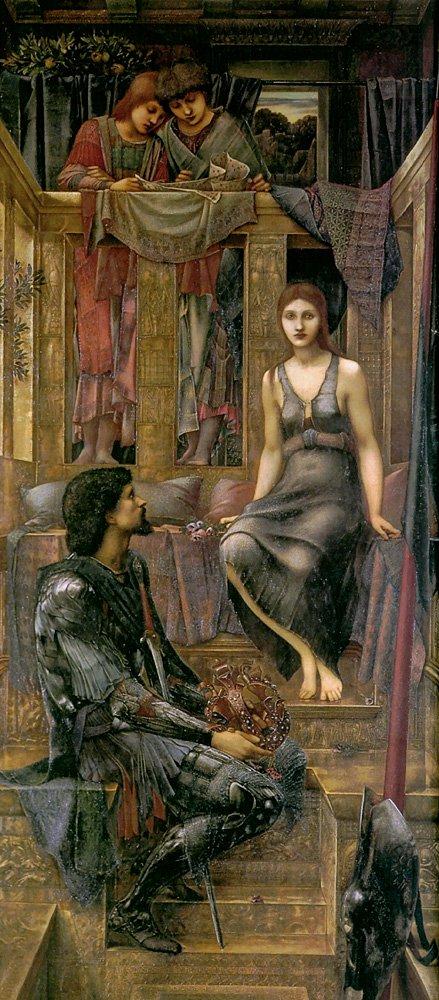 King Cophetua and the Beggar Maid | Sir Edward Coley Burne-Jones | Oil Painting