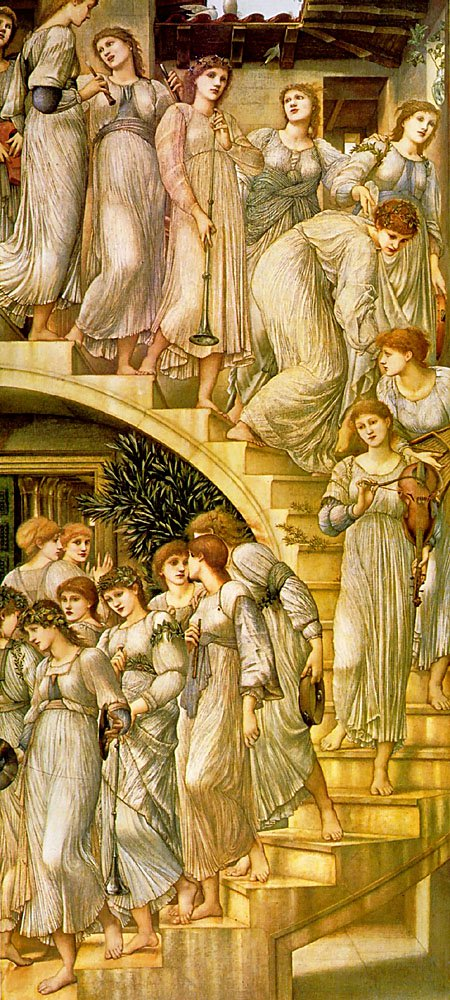 Unknown Painting Name | Sir Edward Coley Burne-Jones | Oil Painting