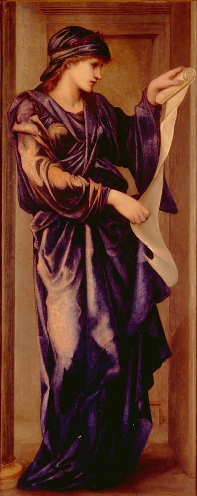 Sybil | Sir Edward Coley Burne-Jones | Oil Painting