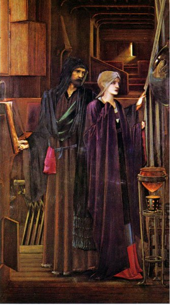The Wizard | Sir Edward Coley Burne-Jones | Oil Painting