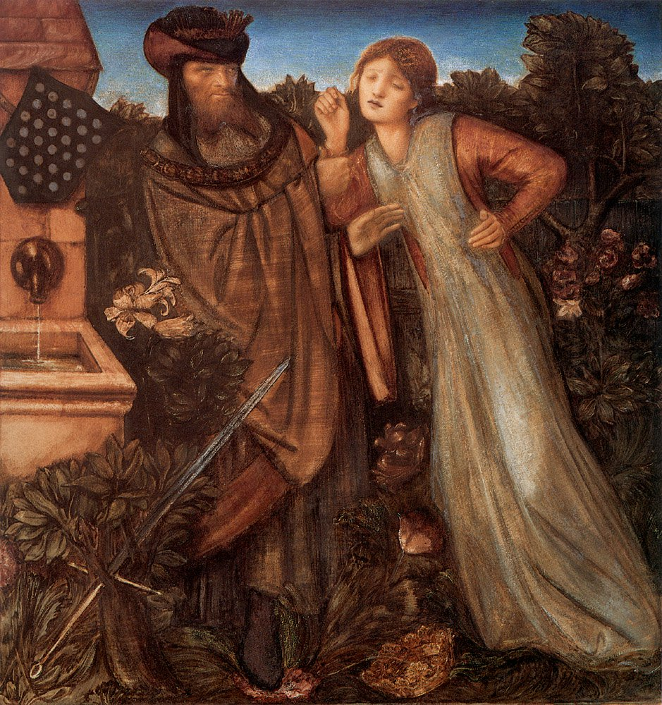 King Mark and La Belle Iseult | Sir Edward Coley Burne-Jones | Oil Painting
