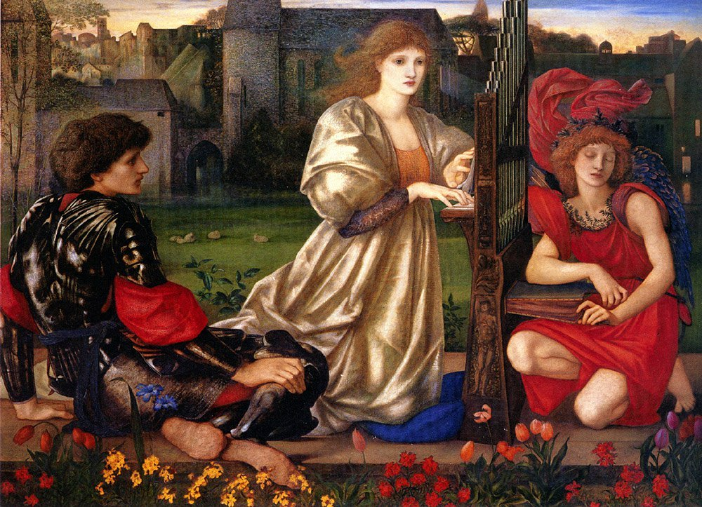 Le Chant d-Amour (Song of Love) | Sir Edward Coley Burne-Jones | Oil Painting