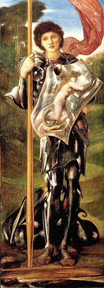 Saint George 1873 77 | Sir Edward Coley Burne-Jones | Oil Painting