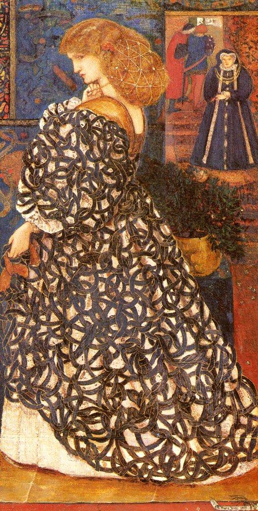 Sidonia Von Bork | Sir Edward Coley Burne-Jones | Oil Painting