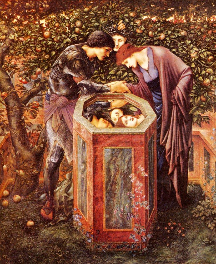 The Baleful Head | Sir Edward Coley Burne-Jones | Oil Painting