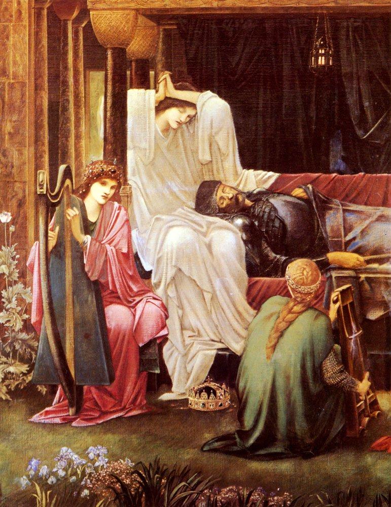 The Last Sleep Of Arthur In Avalon   Sir Edward Coley Burne-Jones   Oil Painting