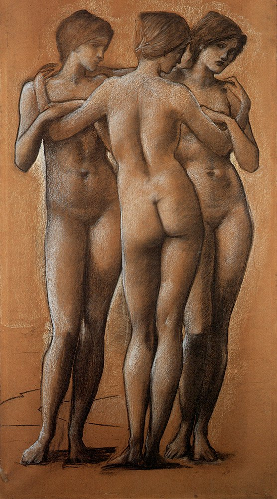 The Three Graces | Sir Edward Coley Burne-Jones | Oil Painting