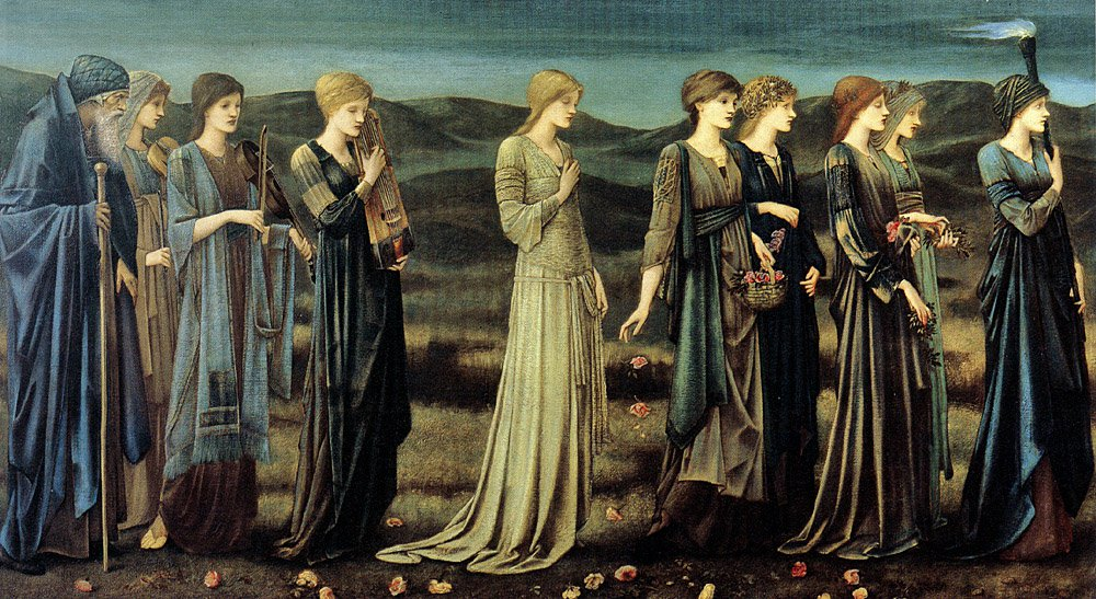 The Wedding of Psyche 1895 | Sir Edward Coley Burne-Jones | Oil Painting