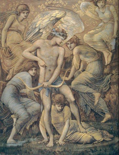 Cupids Hunting Fields | Sir Edward Coley Burne-Jones | Oil Painting