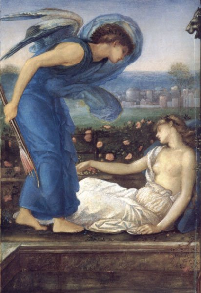 Cupid Finding Psyche | Sir Edward Coley Burne-Jones | Oil Painting