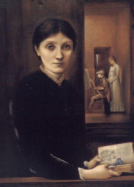 Georgiana Burne Jones | Sir Edward Coley Burne-Jones | Oil Painting