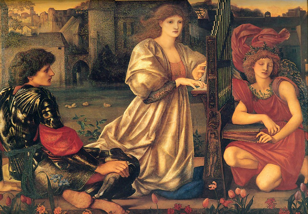 Le Chant DAmour 1868-77 | Sir Edward Coley Burne-Jones | Oil Painting