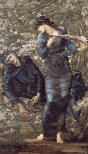 The Beguiling of Merlin | Sir Edward Coley Burne-Jones | Oil Painting