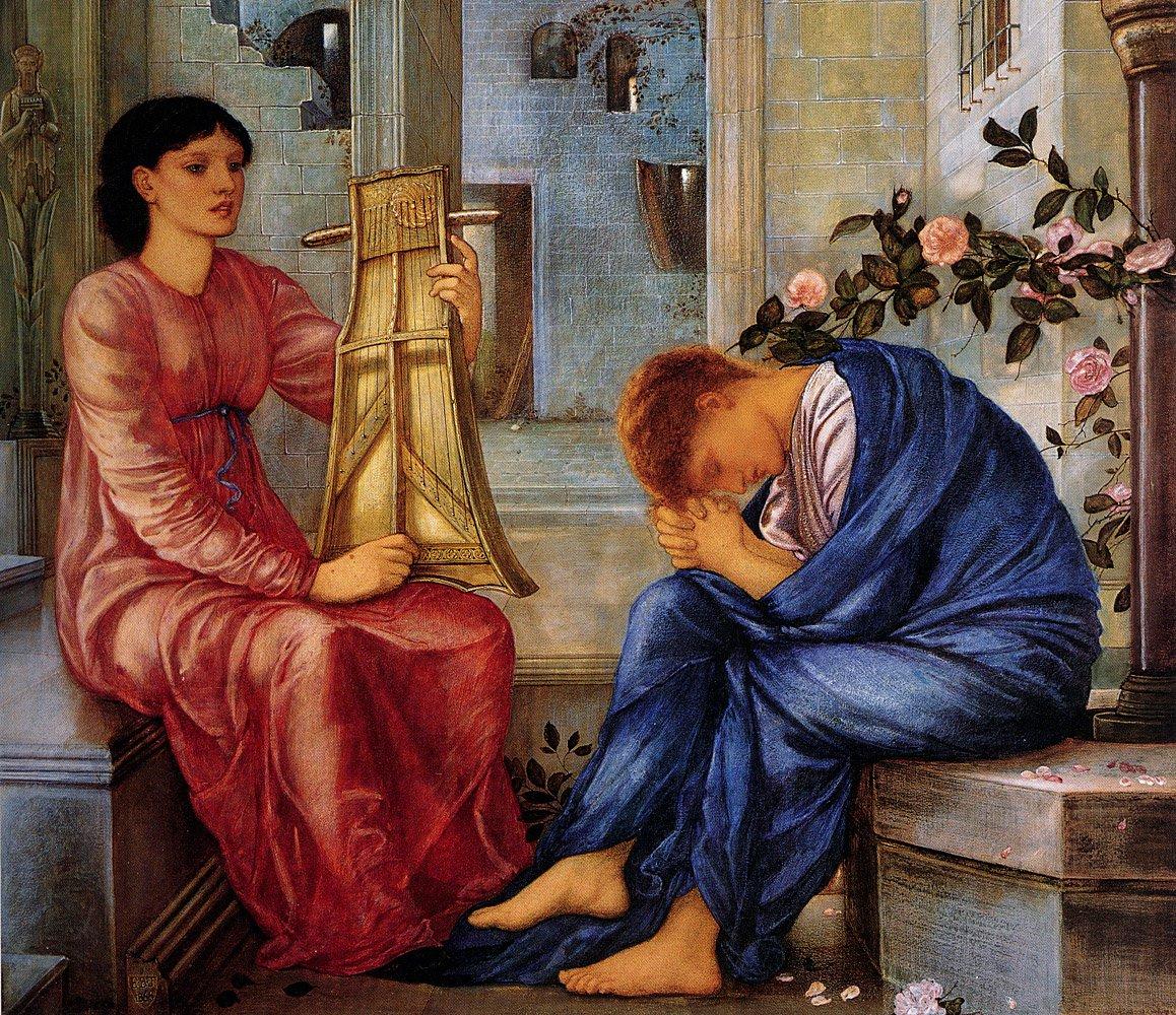 The Lament 1865 66 | Sir Edward Coley Burne-Jones | Oil Painting