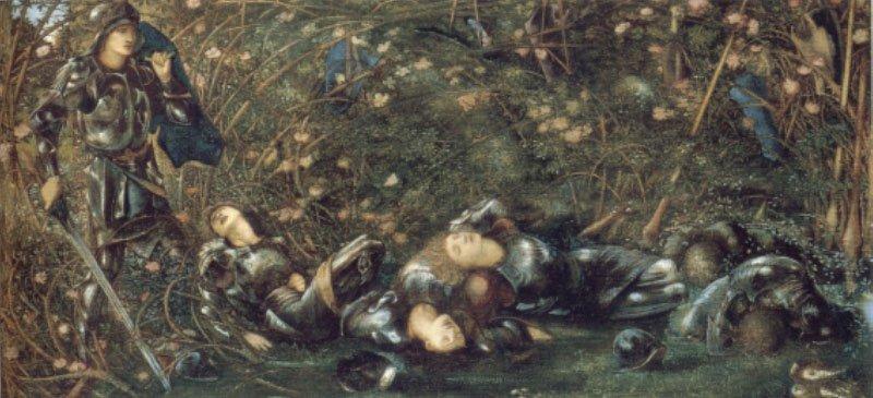 The Briar Rose The Briar Wood | Sir Edward Coley Burne-Jones | Oil Painting