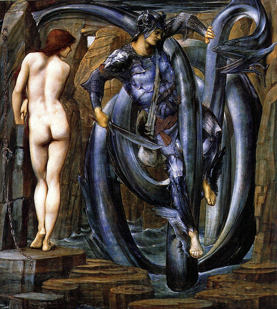The Perseus Series The Doom Fulfilled 1884 85   Sir Edward Coley Burne-Jones   Oil Painting