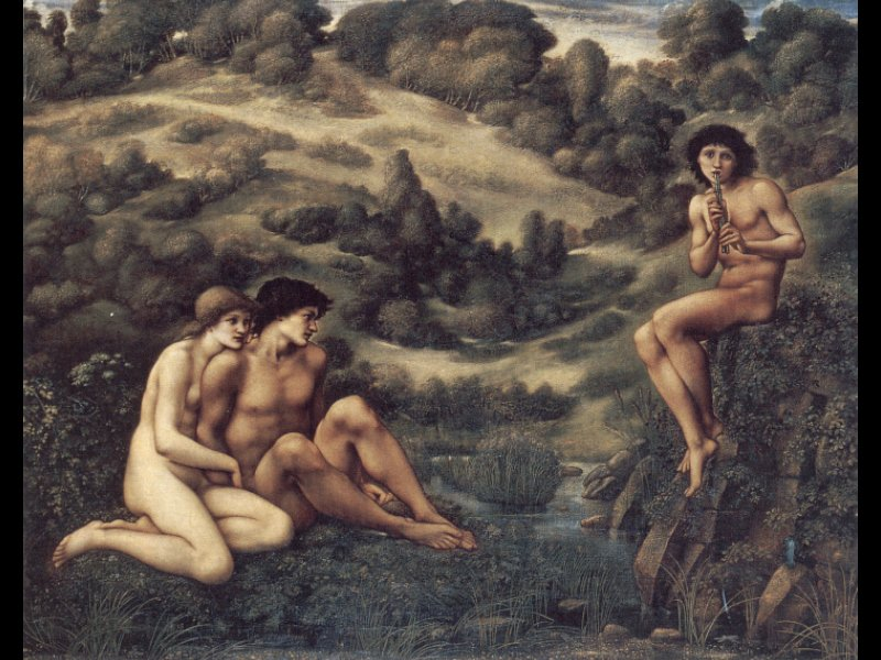 The Garden of Pan | Sir Edward Coley Burne-Jones | Oil Painting
