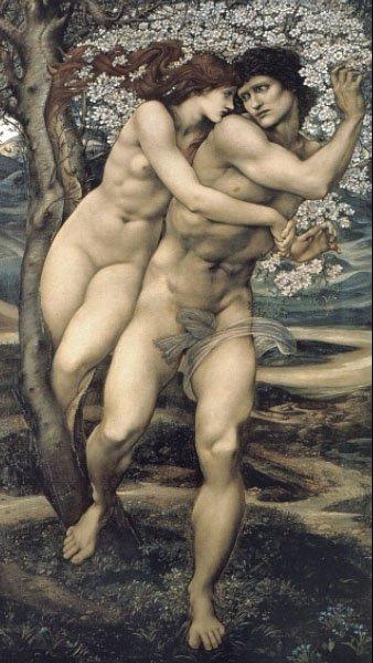 The Tree of Forgiveness | Sir Edward Coley Burne-Jones | Oil Painting
