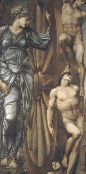 The Wheel of Fortune | Sir Edward Coley Burne-Jones | Oil Painting