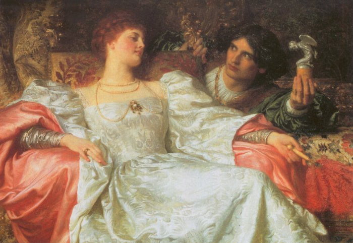 An Offering 1898 | Sir Frank Dicksee | Oil Painting