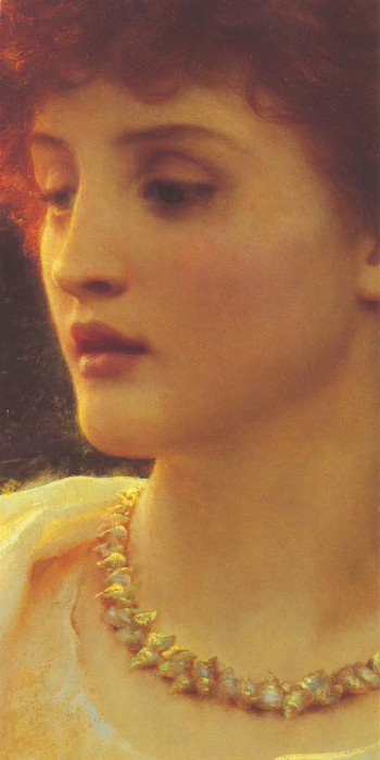 Sylvia (Detail) | Sir Frank Dicksee | Oil Painting