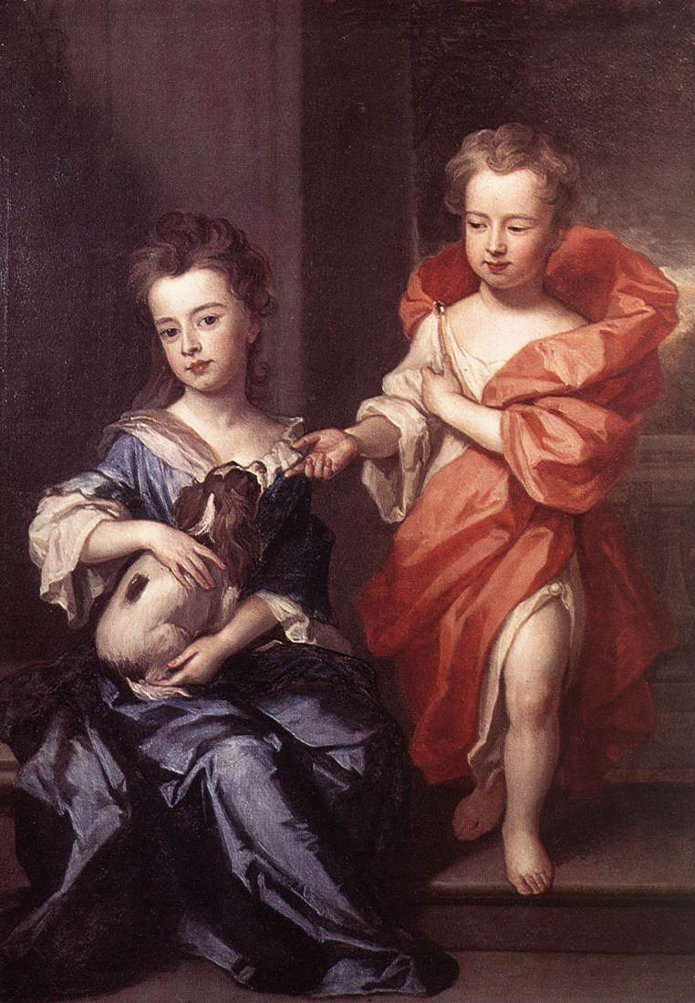 Edward and Lady Mary Howard | Sir Godfrey Kneller | Oil Painting