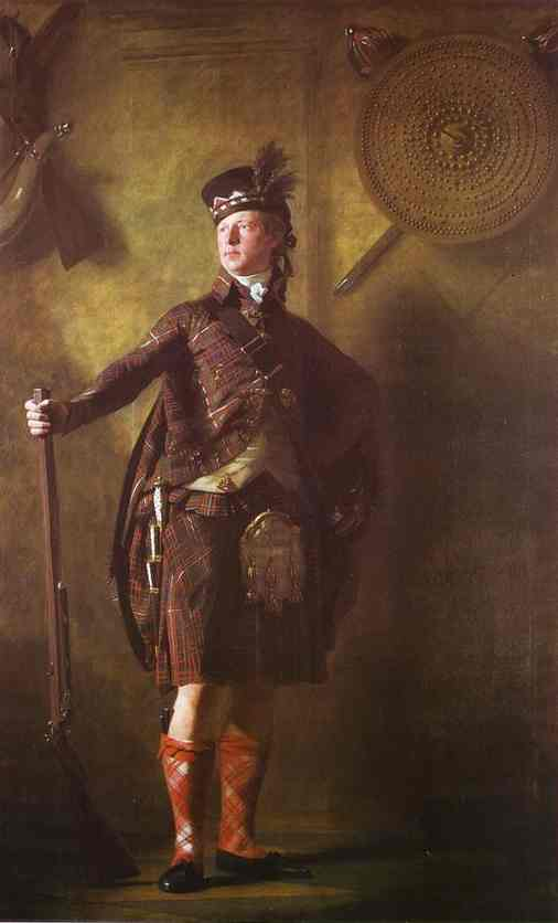 Portrait Of Colonel Alasdair Mcdonnell Of Glengarry 1812 | Sir Henry Raeburn | Oil Painting