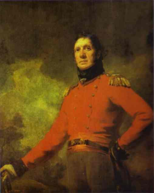 Portrait Of Colonel Francis James Scott 1800 | Sir Henry Raeburn | Oil Painting