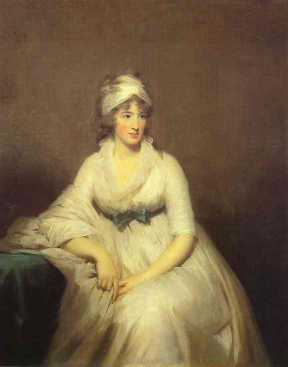 Portrait Of Isabella Mcleod Mrs James Gregory 1798 | Sir Henry Raeburn | Oil Painting
