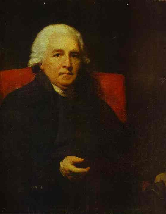 Portrait Of Lucius Obeirne Bishop Of Meath | Sir Henry Raeburn | Oil Painting