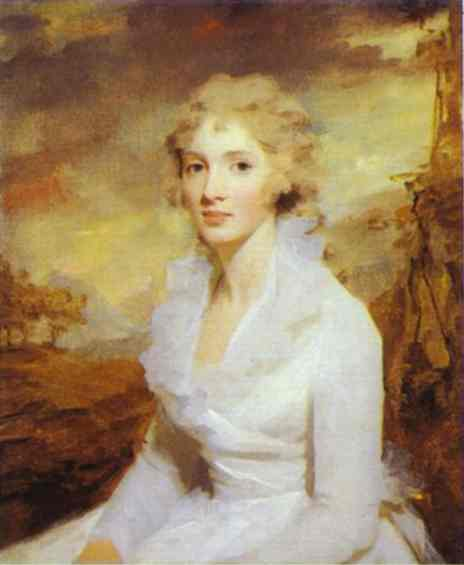 Portrait Of Miss Eleanor Urquhart 1793 | Sir Henry Raeburn | Oil Painting