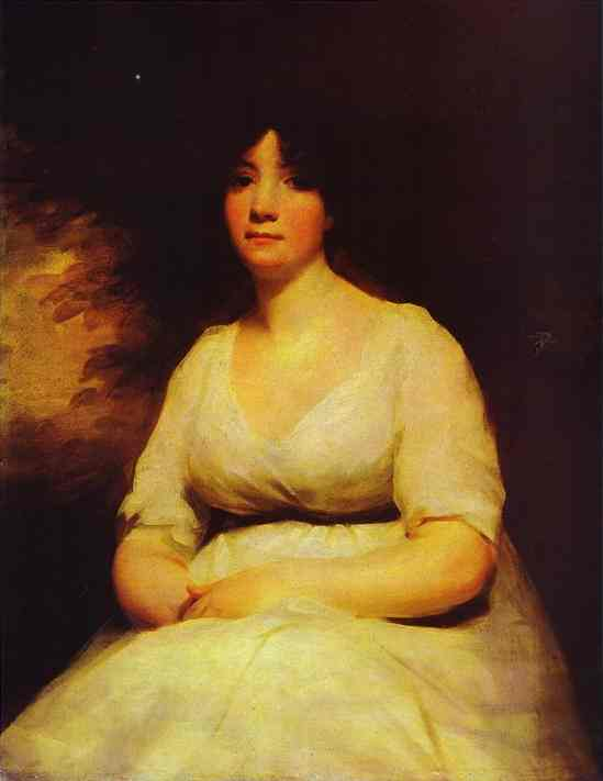 Portrait Of Mrs Kenneth Murchison | Sir Henry Raeburn | Oil Painting